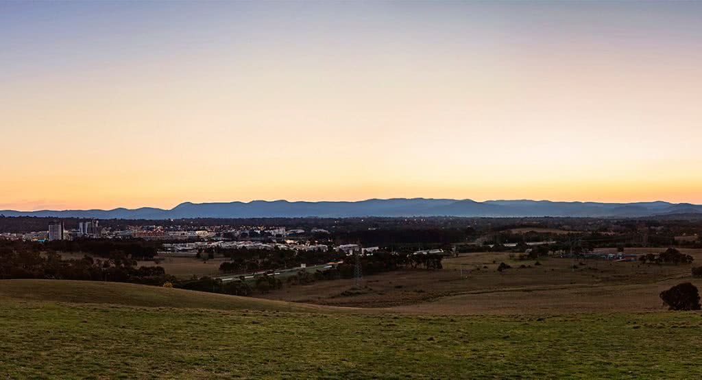 Landscape photograph of Lawson area in Canberra