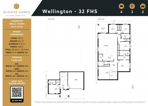 Wellington 32 Front High Side
